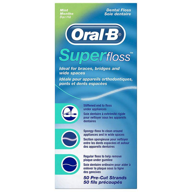 SUPER FLOSS 50 FILI ORAL-B 4103330017369
