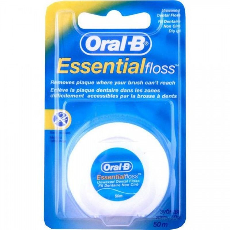 ESSENTIAL FLOSS N/CERATO 50MT ORAL-B 5010622005012