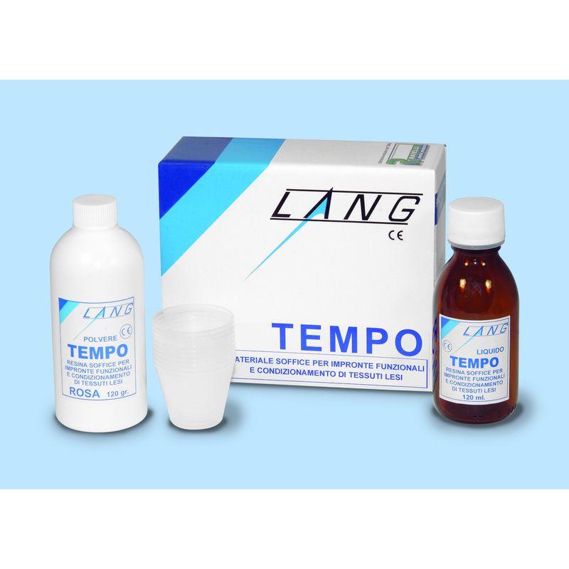 RESINA TEMPO KIT 120GR+120ML LANG 017C121